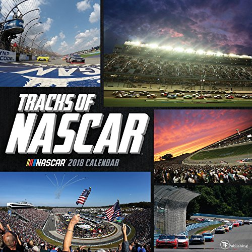 2018 Tracks Of Nascar Wall Calendar