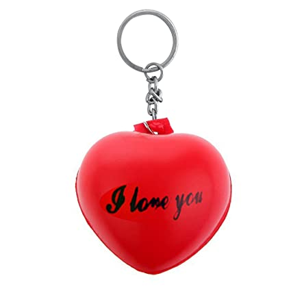 Buy The Marketvilla Heart Shape Keychains Valentine Red Hearts I Love You  Soft Cushion Gift Keychain with Metal Ring for Girls   Women Online at Low  Prices ... 08a5c3f86