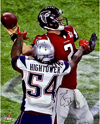 Donta Hightower New England Patriots Autographed 16  X 20  Super Bowl Li Champions Action Photograph   Fanatics Authentic Certified