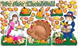 Scholastic Teacher's Friend Happy Thanksgiving! Bulletin Board (TF3073)