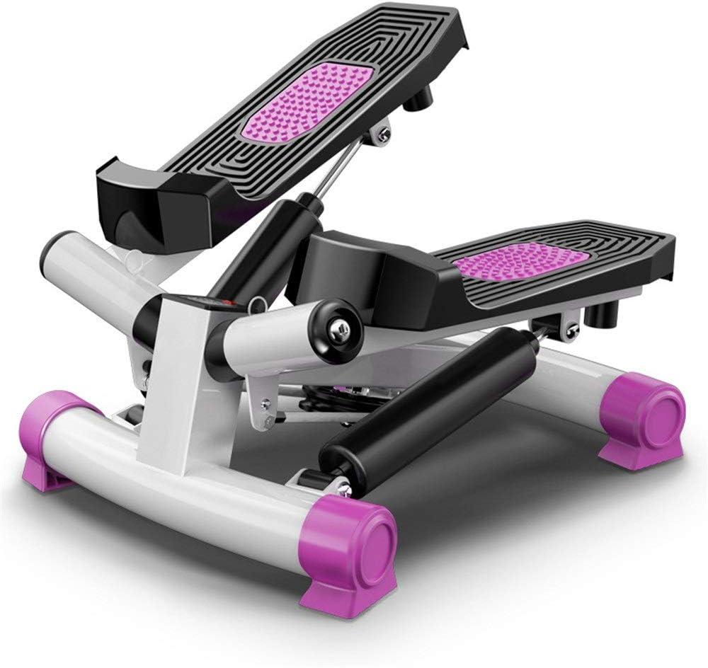 Inicio Fitness Stepper Máquina elíptica cubierta fitness escalera paso a paso ajustable Mini Gimnasio Máquinas de ejercicios paso a paso Equipo de Ejercicio for personas mayores Torsión ajustable paso