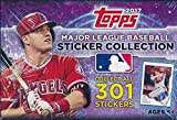 2017 Topps MLB Baseball Stickers MASSIVE Factory Sealed 50 Pack Box with 400 Stickers Plus BONUS (3) BABE RUTH Cards! Look for Stickers of Mike Trout, Kris Bryant, Bryce Harper & Many More! WOWZZER !