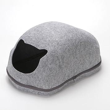 Myoyo Pet Nest Creativity Cars Cat Nest Personalidad Lovely Kennel,Gray: Amazon.es: Deportes y aire libre