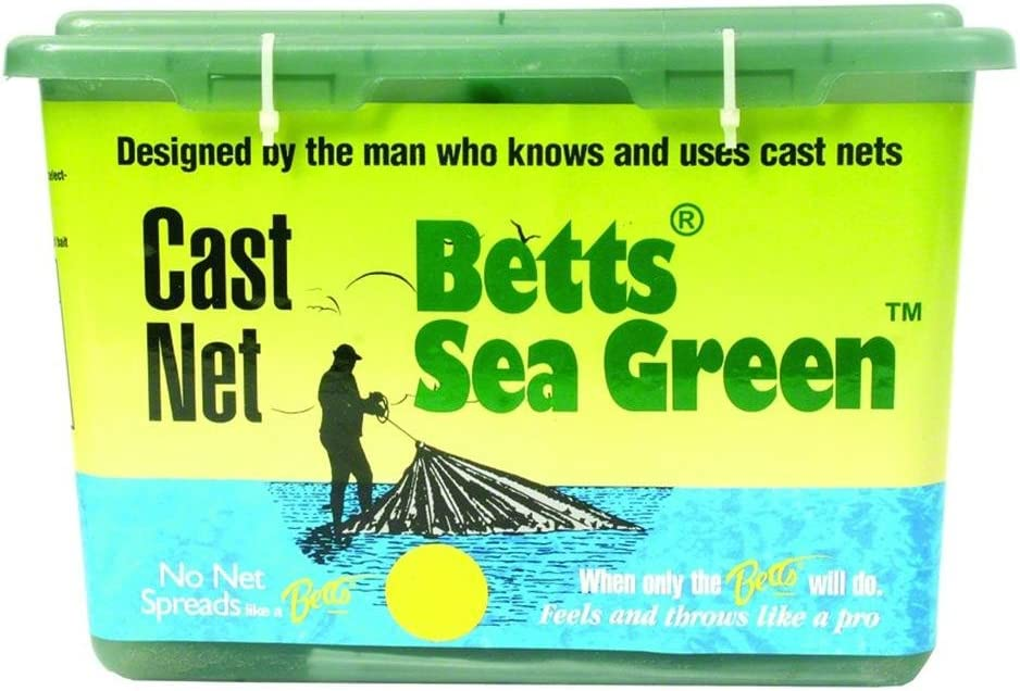 Betts 14-8 Sea Green Mono Cast Net