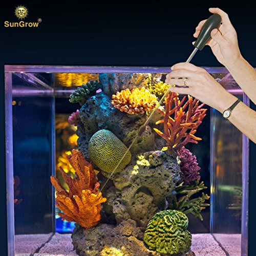 Sea Squirt Acrylic Feeder with 10ml capacity --- Accurate Dispensing Spot Feeder for Coral, Anemones, Eels, Lionfish, other Organisms - Keeps Hands dry while feeding - Target Liquid Feeding Prong