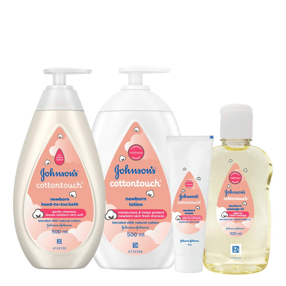 Johnson's Baby Cotton Touch Complete Baby Care Gift Set