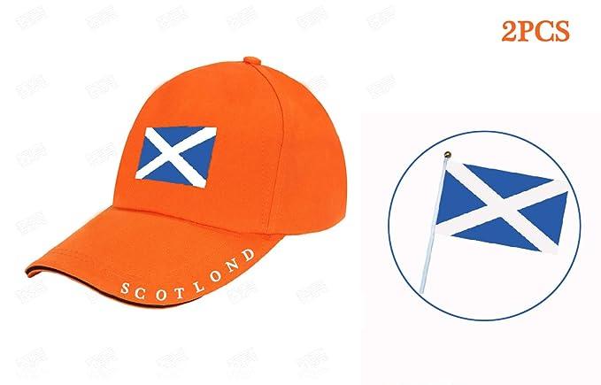 Conjunto de 2 Piezas Gorra de Béisbol Escocia Banderas Escocesas ...