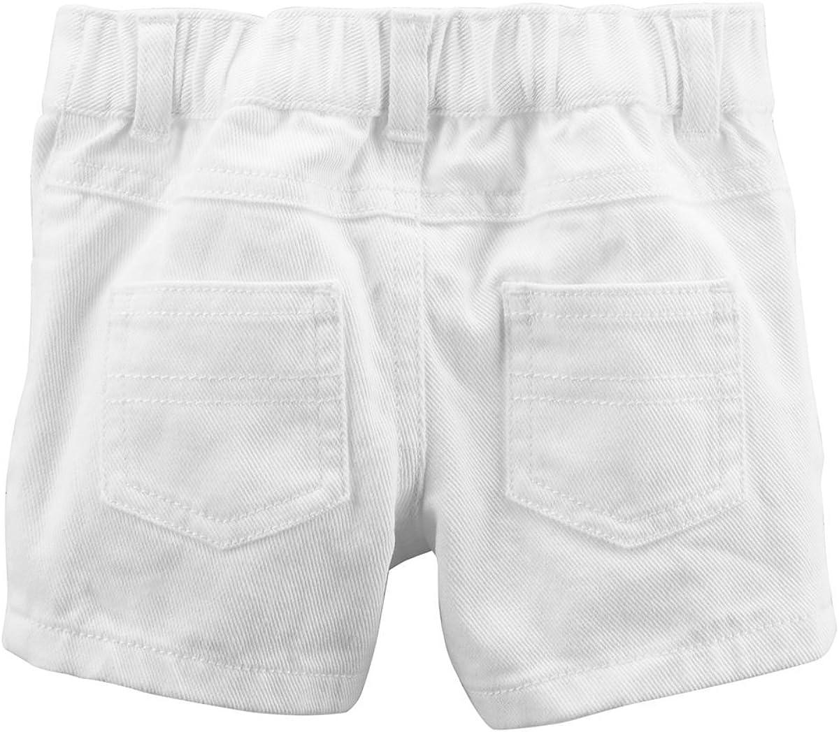 12m Carters Girts 2-Piece Fruit Print Top /& White Shorts Set