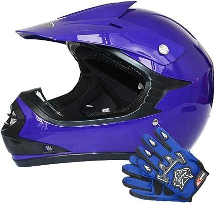 Amazon.es: Leopard LEO-X15 Casco de Motocross para Niños Bicicleta ...