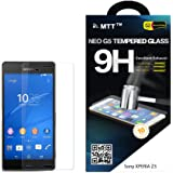 MTT NEO G5 Sony Xperia Z3 Premium Tempered Glass Screen Protector Guard - Protect Your Screen from Scratches and Drops - Maximize Your Resale Value - 99.99% Clarity & Touchscreen Accuracy LAUNCH OFFER (30 % OFF)