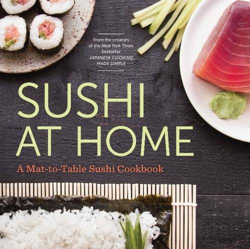 Sushi Home Mat Table Cookbook product image