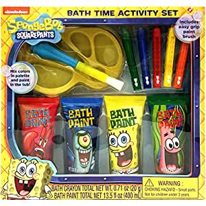 Spongebob squarepants bath time activity set for Spong kitchen set 702