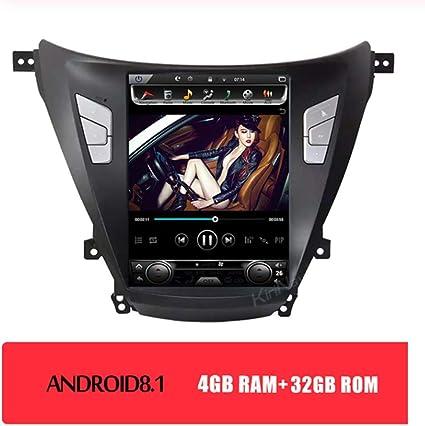 Auto Navegación GPS Para Hyundai Elantra 2011-2016 DVD Radio Coche ...