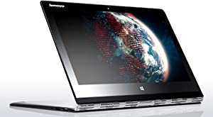 "Lenovo Yoga 3 Pro - 13.3"" QHD Convertible Ultrabook PC - Intel Core M-5Y71, 8GB RAM, 256GB SSD, Windows 8.1 - Silver"