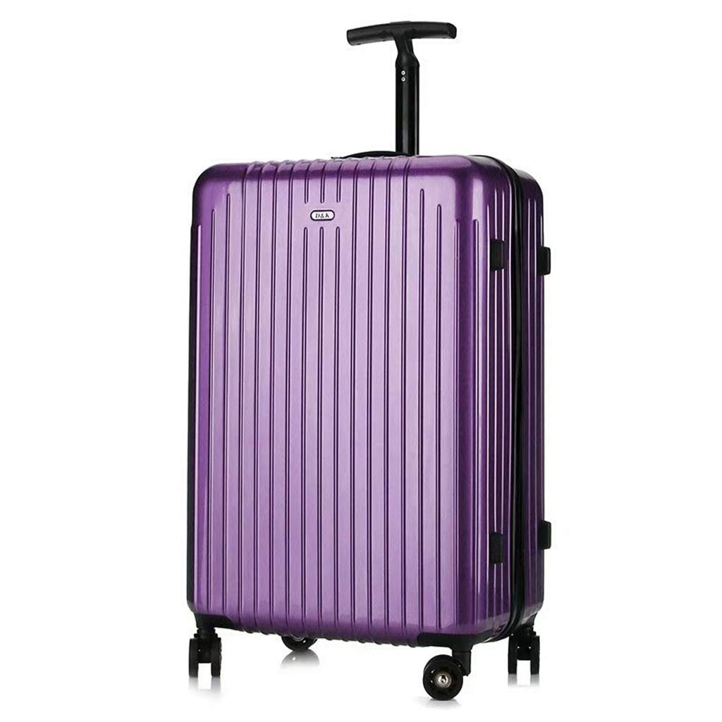 OTLLE シングルレバー スーツケース ボードスーツケース 20インチ 22インチ 24インチ 26インチ 28インチ 28inch パープル L6954767 B07L2NJ5GV パープル 28inch