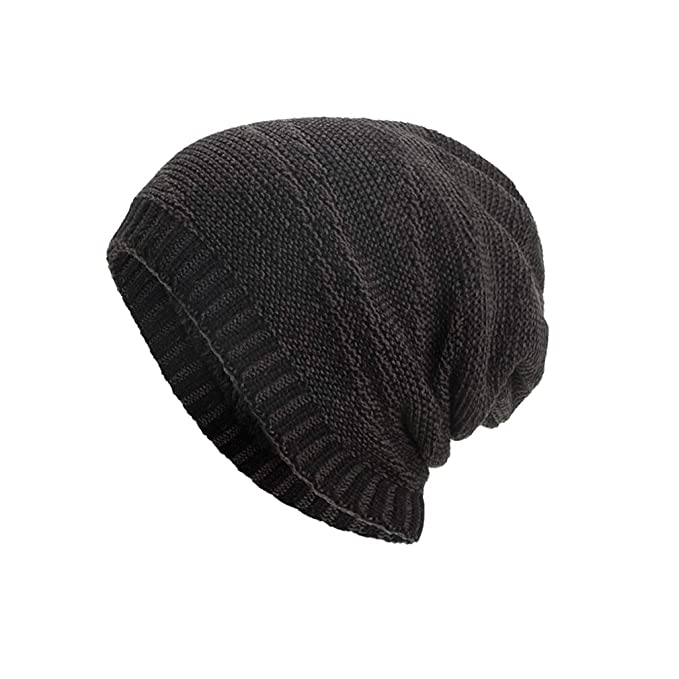 24dc37f8fe0 Winter Skiing Hat Striped Knitted Beanie Hat Outdoor Sports Winter Hat for  Climbing Cycling Skiing Motorcycling (Unisex)  Amazon.co.uk  Clothing