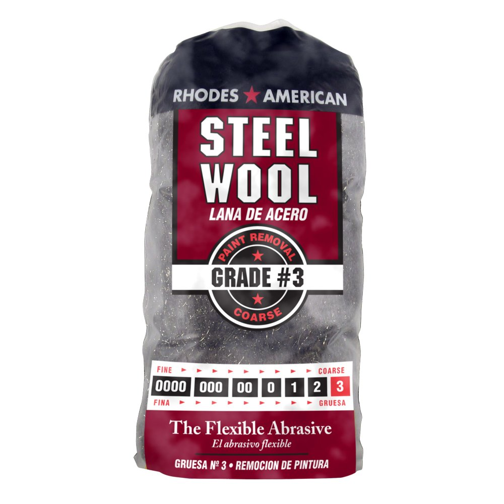 0000 Stainless Steel Wool Pads: Steel Wool