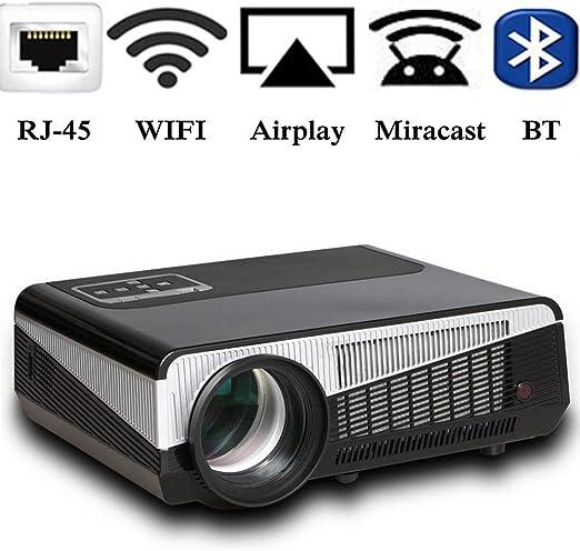 AI LIFE Proyector de Video WiFi 1080p de 5000 lúmenes Proyectores ...