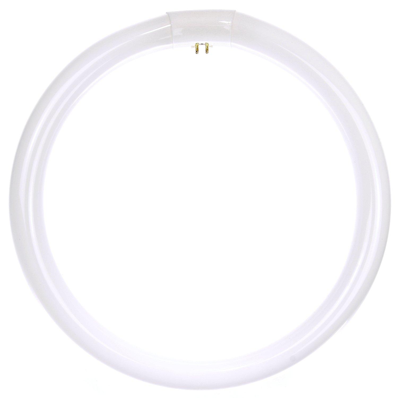 6500K Daylight Like Light 4-Pin Base Sunlite FC8T9//DL Fluorescent 22W T9 Circline Ceiling Lights