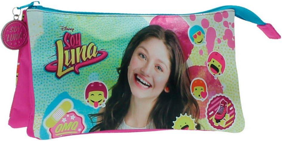Disney Luna Icons Mochila Infantil, 1.32 litros, Color Rosa: Amazon.es: Equipaje