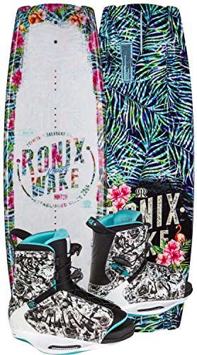Ronix Wakeboard Package - 134 - Krush w/ Halo - 8-10.5 (2017)