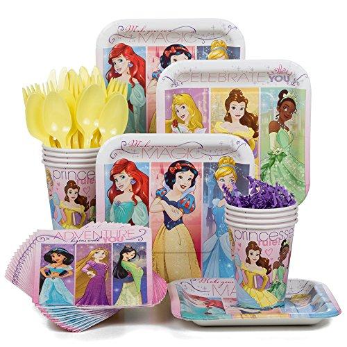 [Costume Supercenter BBKIT788 Disney Princess Party Standard Tableware Kit] (Disney Ideas Costumes)