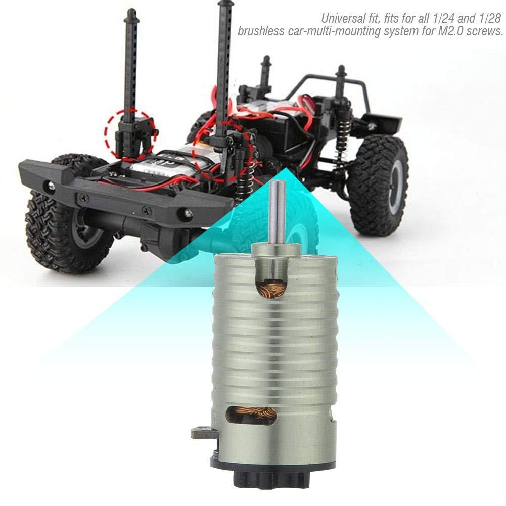 Woyisisi Rocket Mini-Z 5500KV 2Poles Motore Brushless per 1//24 1//28 Modello RC Car Digital High Torque Metal