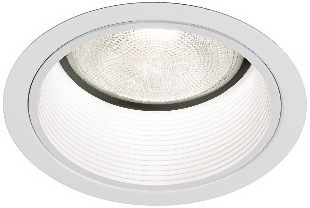 Buy Lightolier 5 Line White Baffle Recessed Light Trim Online At Low Prices In India Amazon In