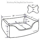 Blueberry Pet Baby Pink & Beige Dog Bed Value