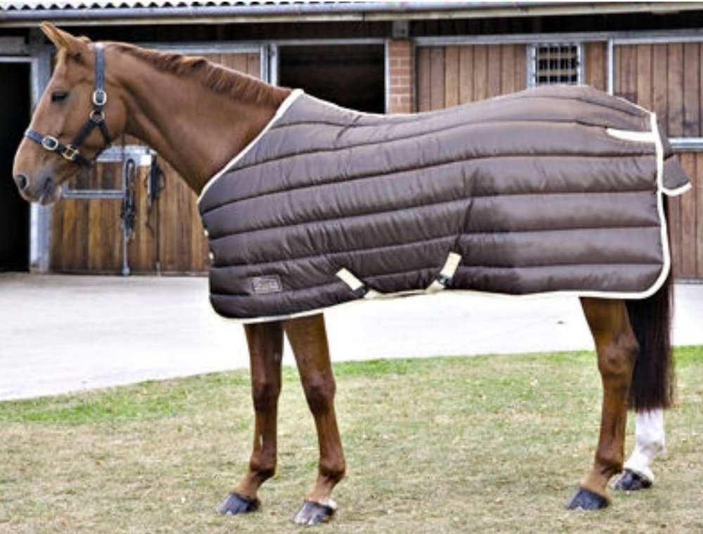 7ft 0in Shires Tempest 300 Stable Rug Brown