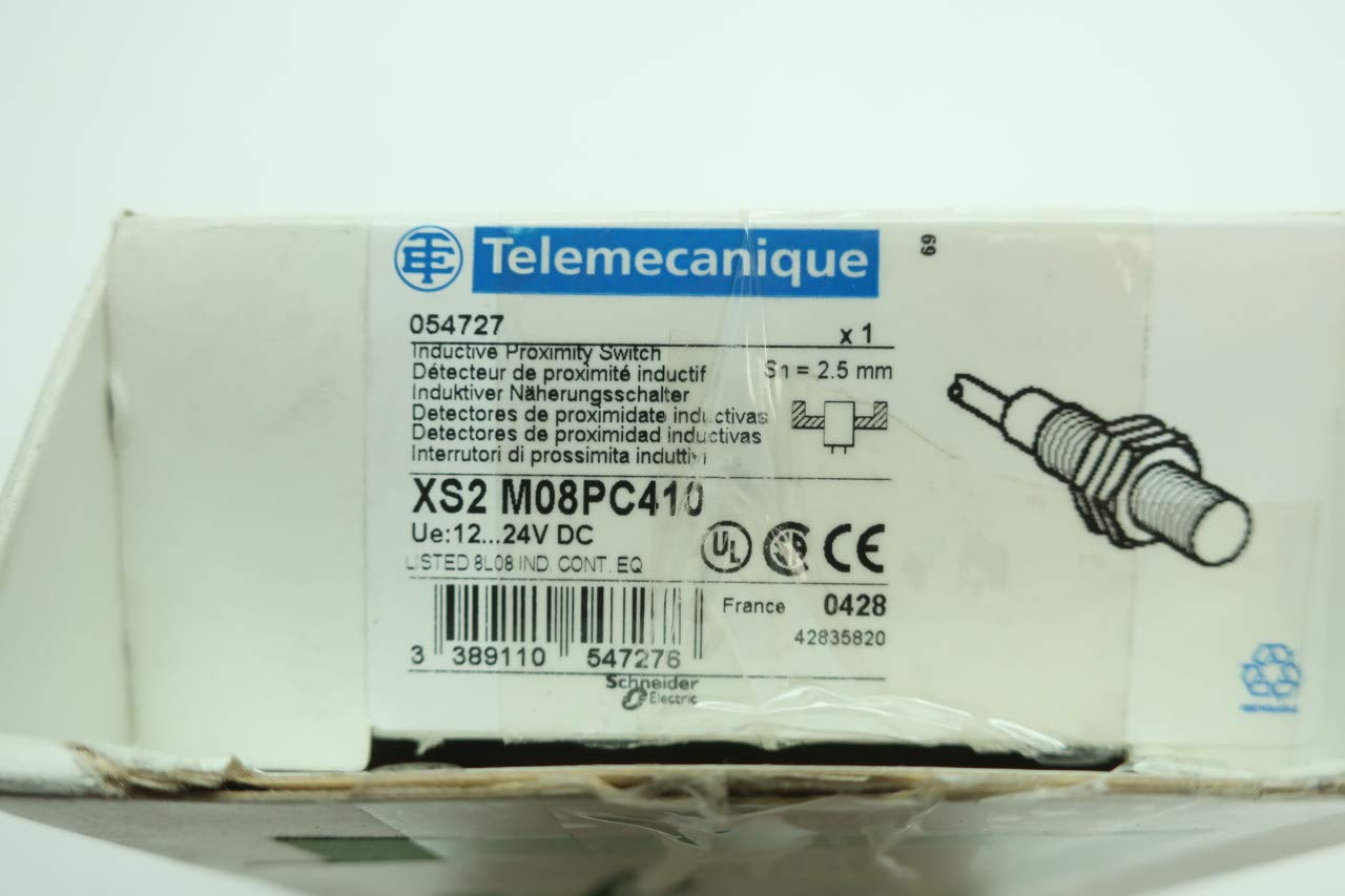 TELEMECANIQUE XS2M08PC410 INDUCTIVE Proximity Switch 12-24V-DC D629756: Amazon.com: Industrial & Scientific