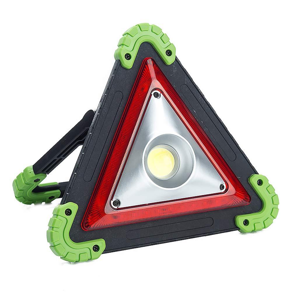 Riflettente segnaletica di Pericolo di Sicurezza con Luce LED Triangolo Do Happy Segnale di Emergenza Emergency Breakdown