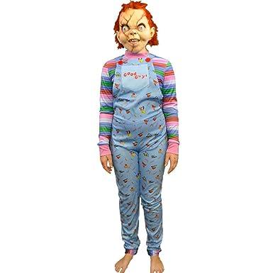 79fbb1f7 Amazon.com: Child's Play 2- Good Guy Costume - Kids: Clothing