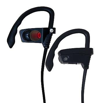 T-Tech Bluetooth a prueba de sudor deporte auriculares para correr o entrenamiento con cancelación