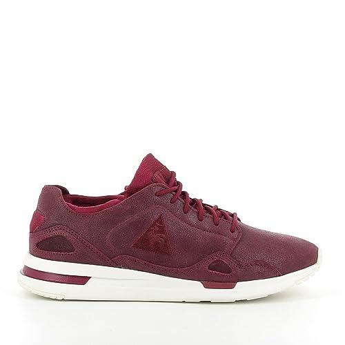 Le Coq Sportif - Cordones para Zapatos Mujer , rojo (granate), 39: Amazon.es: Zapatos y complementos