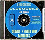 1966 OLDSMOBILE FACTORY REPAIR SHOP & SERVICE MANUAL CD - INCLUDES: Cutlass, 442, F-85 series, Standard, 6-Cyl or V-8, Deluxe, Vista Cruiser, Jetstar Eighty-eight, Dynamic Eighty-eight, Delta Eighty-eight, Starfire, Ninety-eight, and Toronado 66
