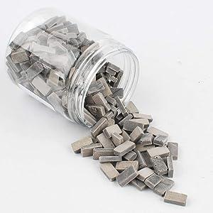 NW 250pcs Brick Building Set Dollhouse Miniature Bricks Mini Bricks Model (Grey, 1:35)