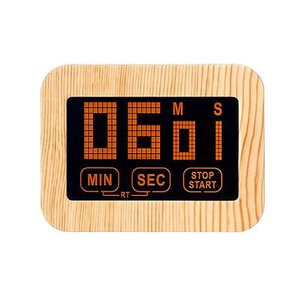 mxjeeio☛Magnético Digital Temporizador De Cocina con Alarma ...