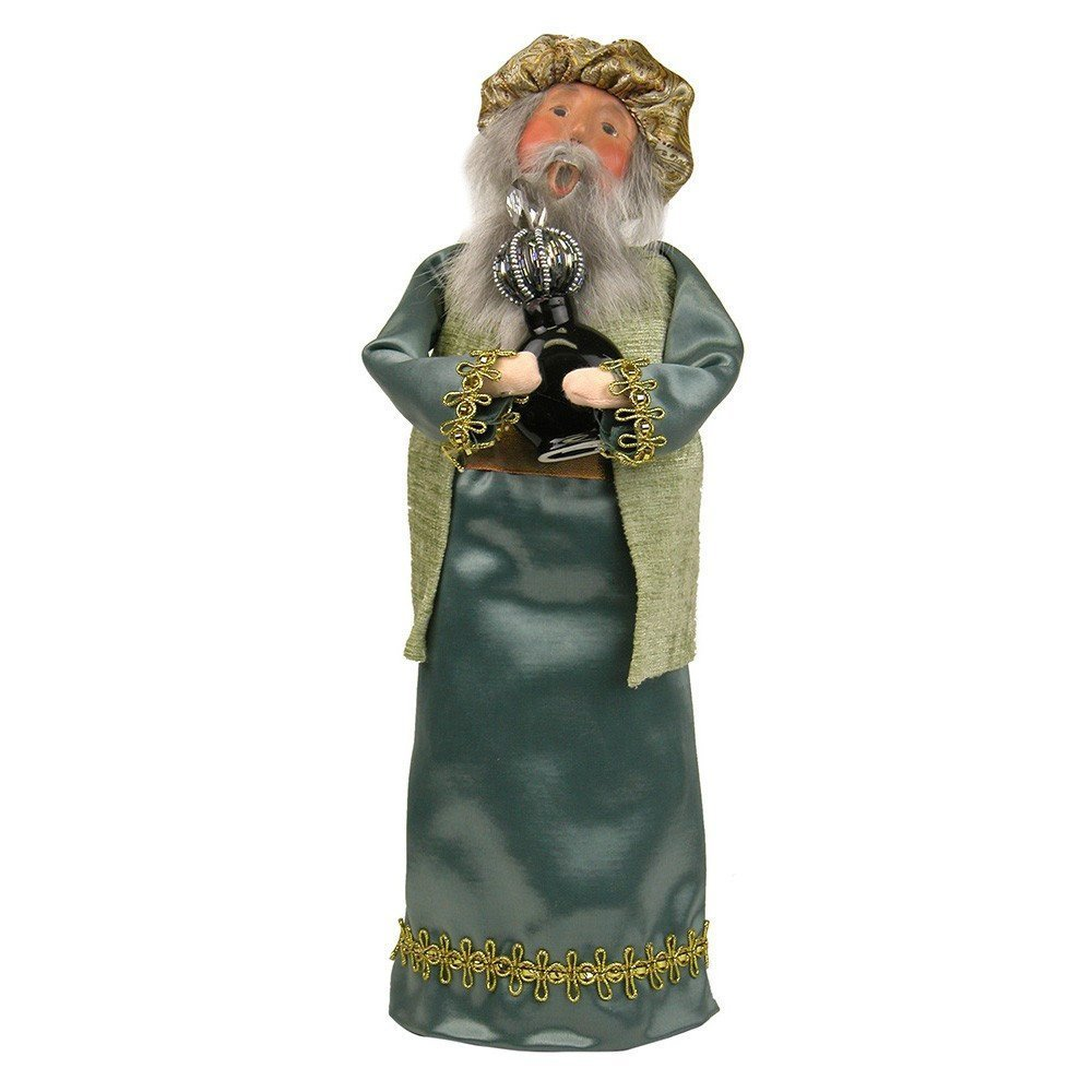 Byers'Choice Blue Wise Man w/Frankincense Figurine