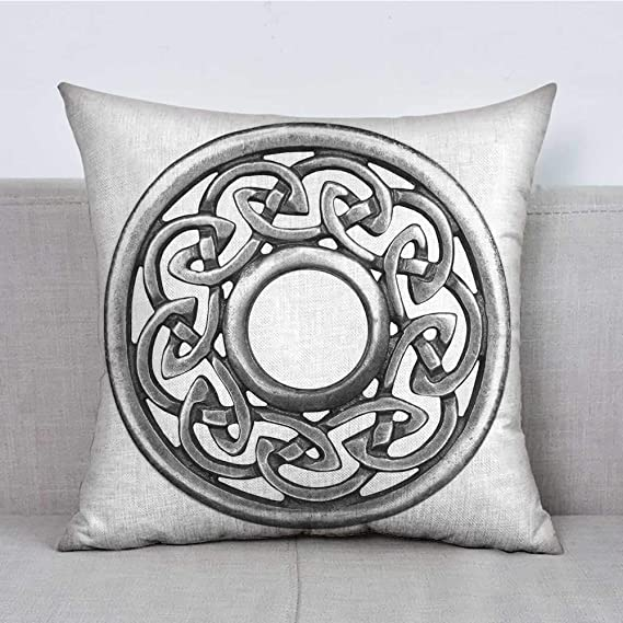 FreeKite Celtic Bedding - Funda de Almohada Suave, diseño de ...