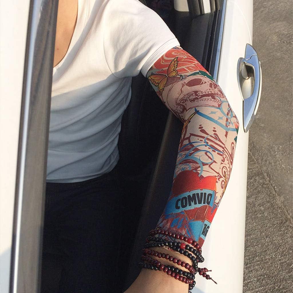 Gjyia Falso Tatuaje Mangas Cubierta Unisex Estilo Aleatorio ...