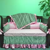 Bedding Set Regular Size''Cheetah with Light Pink''