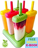 Popsicle Molds - Ice Pop Maker - Bpa-free Popsicles with Tray and Dripguard Function - Clearance Sale