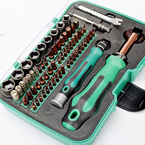 HOTPDR Screwdriver Kit 70 in 1 Professional Magnetic Screwdr