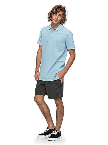 Quiksilver Newmizkimitt Kttp Bhc0 Camiseta Polo, Hombre ...