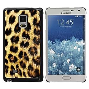 Paccase / SLIM PC / Aliminium Casa Carcasa Funda Case Cover - Pattern Fur Golden Brown Spots - Samsung Galaxy Mega 5.8 9150 9152