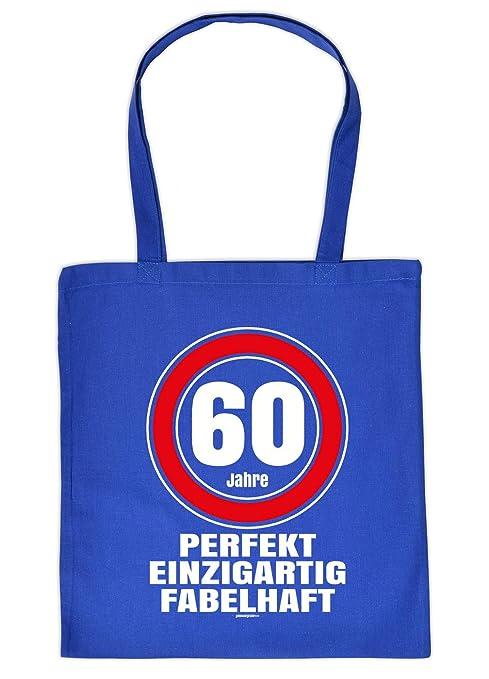 Witzige Geschenk Tasche Zum 60geburtstag Verpackung 60