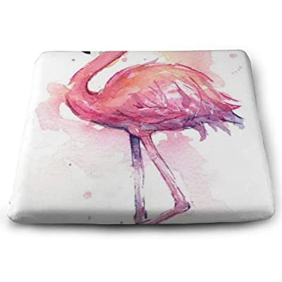 Sanghing Customized Flamingo 1.18 X 15 X 13.7 in Cushion, Suitable for Home Office Dining Chair Cushion, Indoor and Outdoor Cushion.: Home & Kitchen