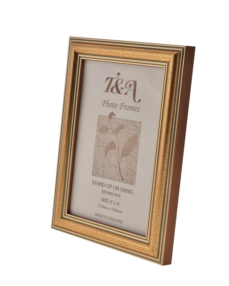 Thin Gold Picture Frame 008B (A3): Amazon.co.uk: Kitchen & Home