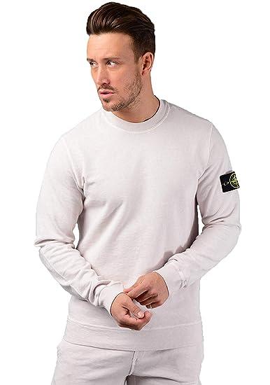 concepteur neuf et d'occasion profiter de prix bas Style magnifique Stone Island Hommes 65560 Pull en Mastic - Blanc, XL: Amazon ...